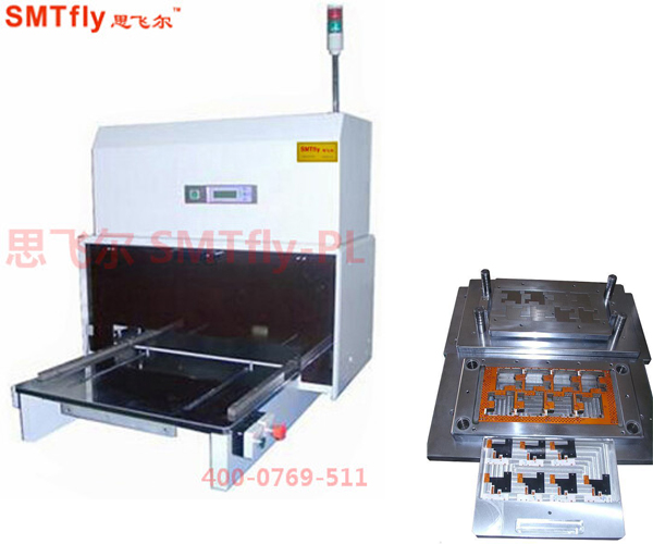 Punching Machine for PCB,Automatic Pcb Punching Equipments SMTfly-PL