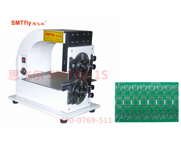PCB Separate PCB Depaneling Machine For LED Lighting V Cut PCB Boards SMTfly-1S