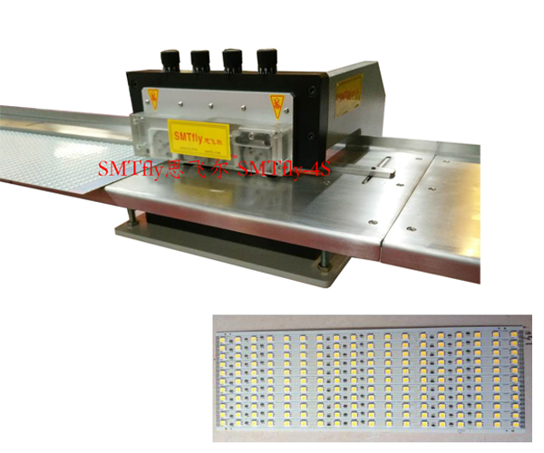 Multi-blades LED Lighting PCB Depaneling,SMTfly-4S