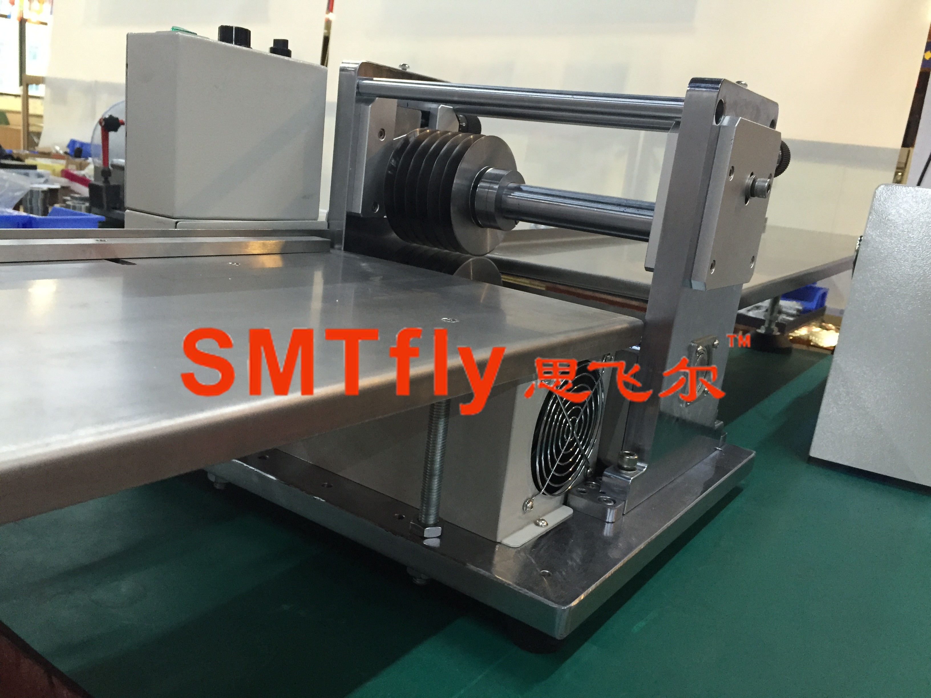Led Depanelizer China Automatic V Cut Pcb Singulation Machine For Printed Circuit Board Separating Equipmentsmtfly 1sn