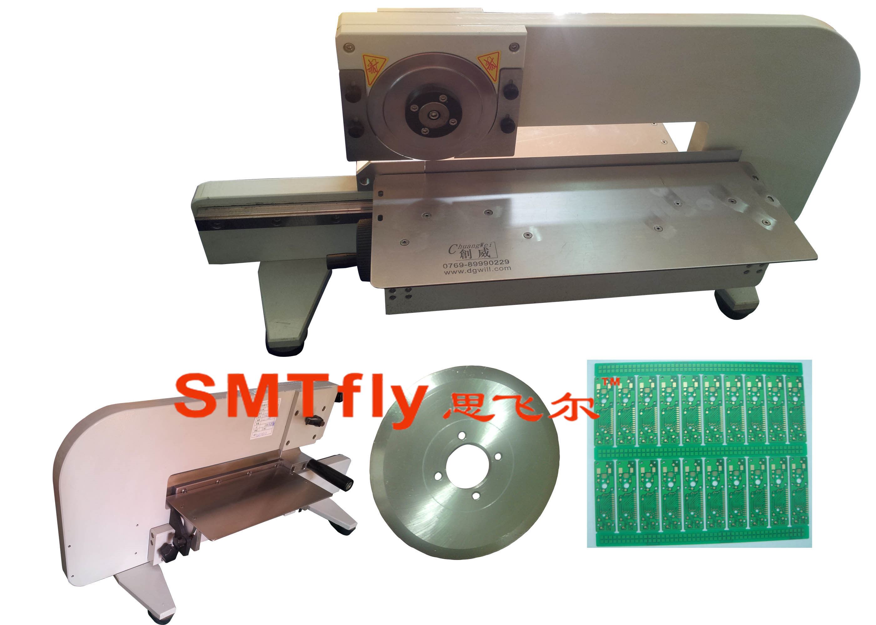 manual pcb board cutting machine,SMTfly-2M