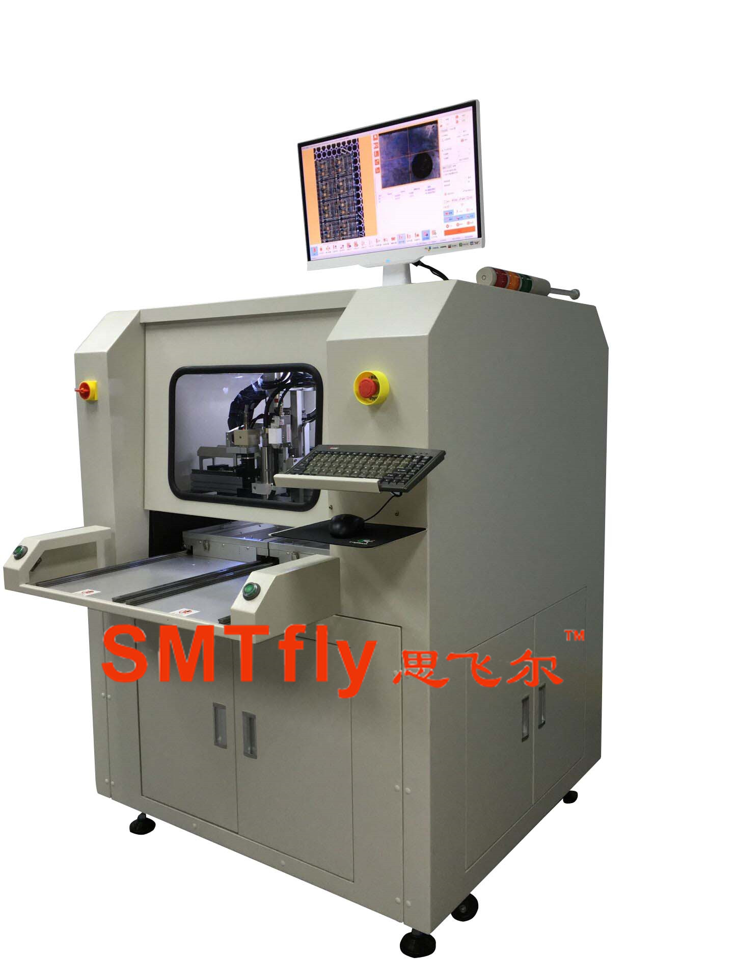 PCB Router Equipment, SMTfly-F02
