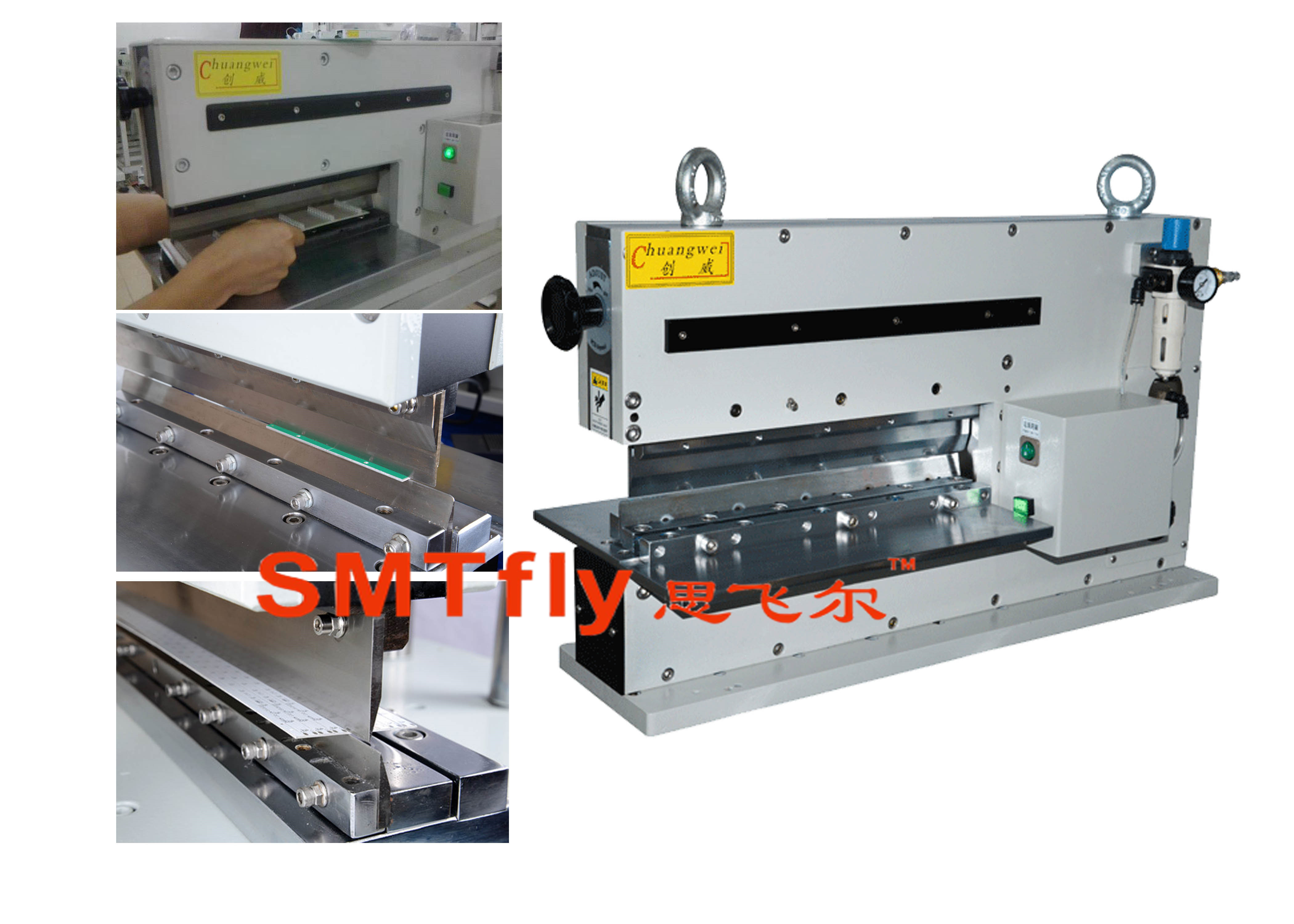 Automatic Guillotine PCB Cutter,SMTfly-400J