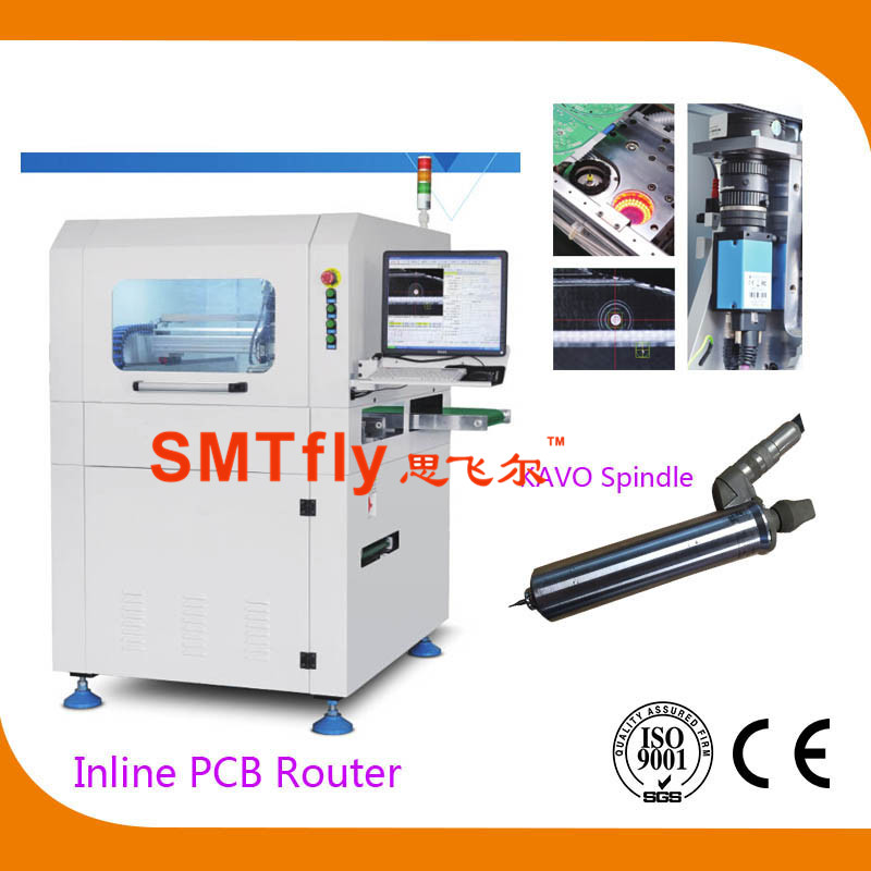 Inline PCB Router-CNC PCB Router Depaneling Machine,SMTfly-F03
