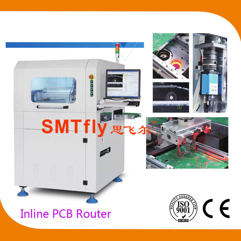 Inline PCB Router Depaneling Machine,SMTfly-F03