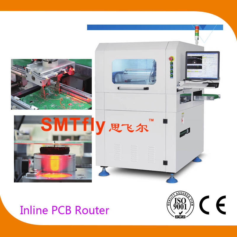 Inline PCB Router, Routing Machine with CNC,SMTfly-F03