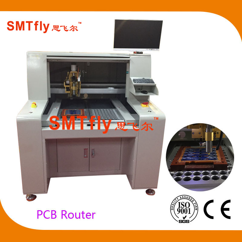 PCB Depaneling Router, SMTfly-F04